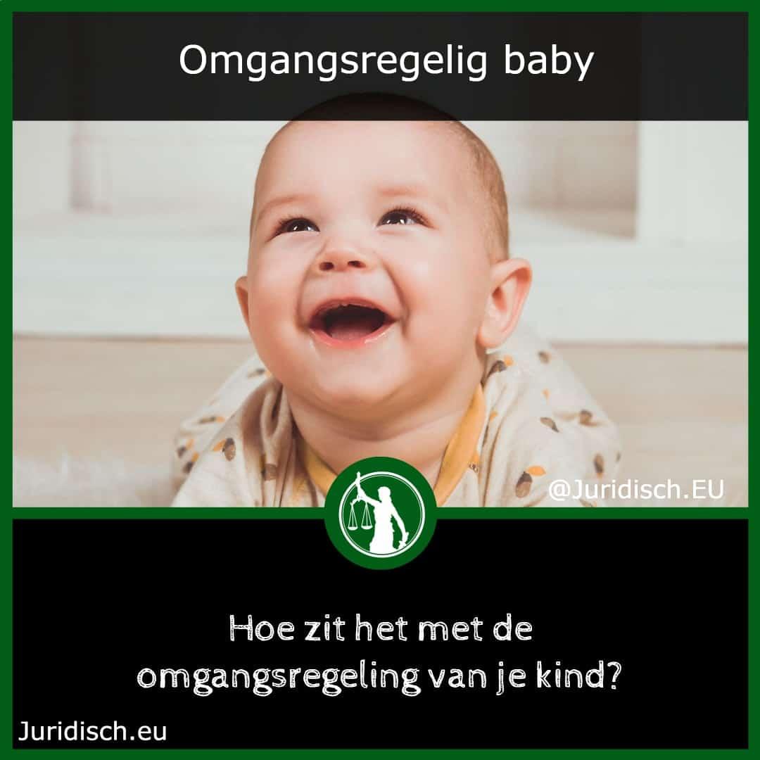 Omgangsregeling-Baby